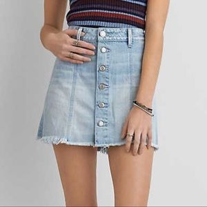 American Eagle Outfitters | Button-down jean skirt